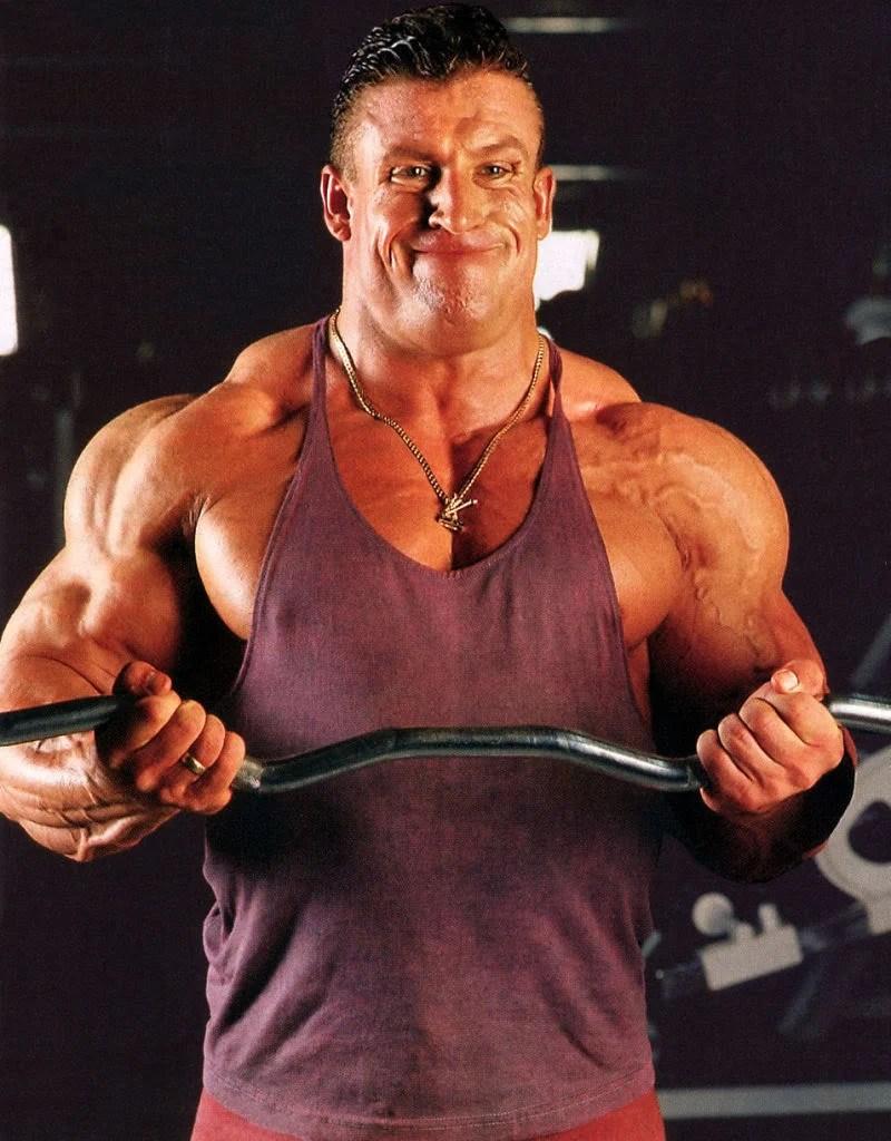 Fisiculturista Dorian Yates  Dieta Treino Medidas