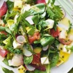 Molho de maracujá para saladas