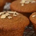 Muffin com farelo de aveia
