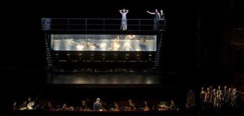'Dido y Eneas' de Purcel. Coreorafía y dirección escénica, Sasha Waltz. Dirección musical, Christopher Moulds. Buenos Aires, Teatro Colón, junio de 2016.