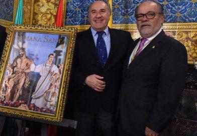 José Ignacio Landaluce agradece a las cofradías la labor social desarrollada en la lucha contra la Covid-19