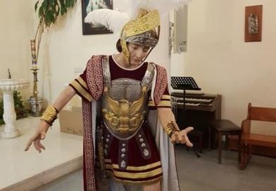 Un centurión romano para las Tres Caídas