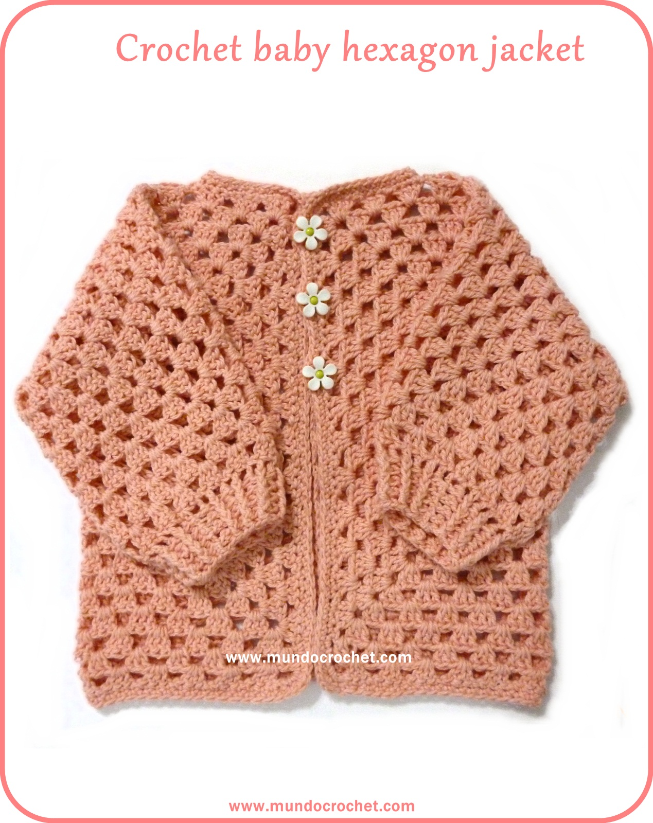 Crochet jacket pattern for beginners squareone for crochet hexagon jacket crochet hexagon sweater crochet jacket pattern for beginners bankloansurffo Image collections