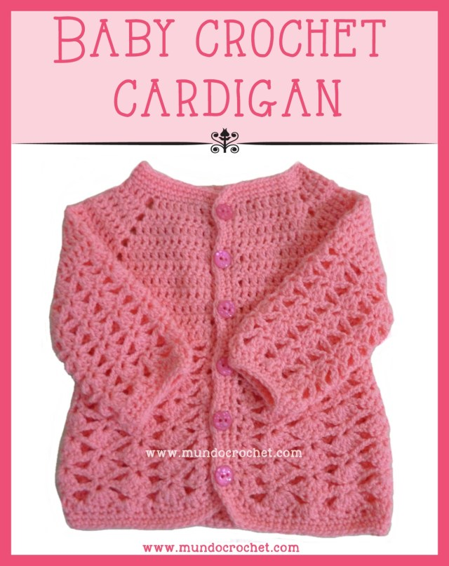 Baby crochet cardigan or sweater
