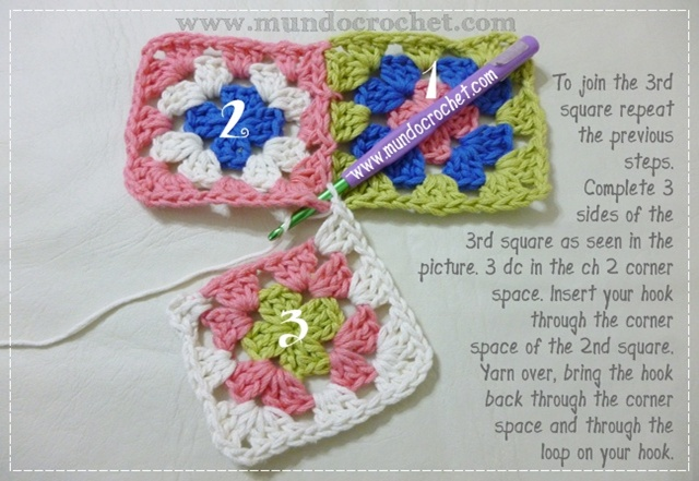 How to join granny squares7