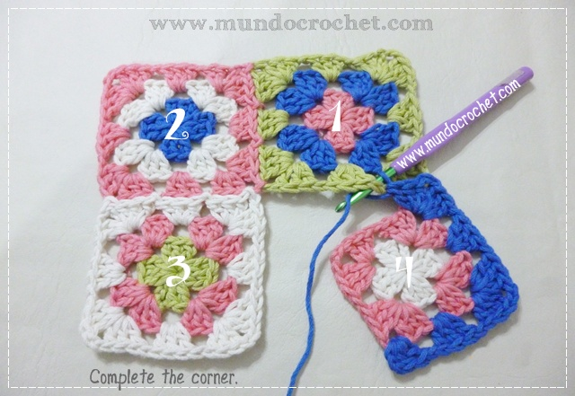 How to join granny squares12