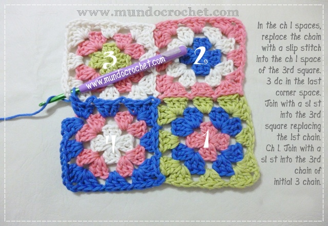 How to join granny squares16