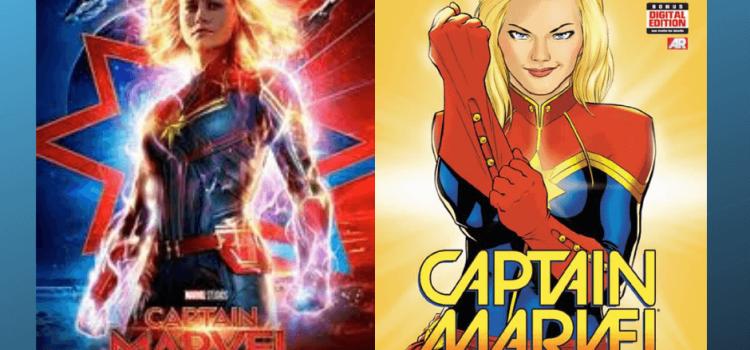 Capitã Marvel: Muito mais do que apenas fraco.