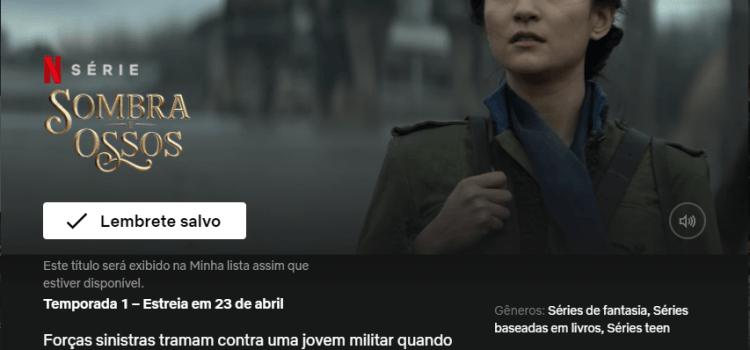 Sombra e Ossos, a nova série Netflix | É baseado em um Livro? #01