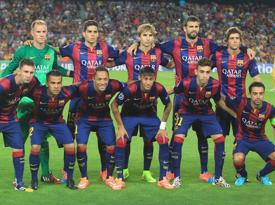 Futbol Fc Barcelona Del Barcab Inscritos En La Champions L