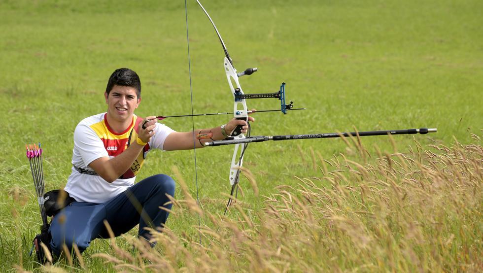 Miguel Alvariño, de 22 años, encara con mucho optimismo su debut olímpico