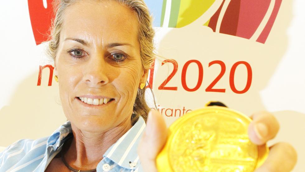 Theresa Zabell tiene un historial olímpico incontestable: dos participaciones, dos medallas de oro