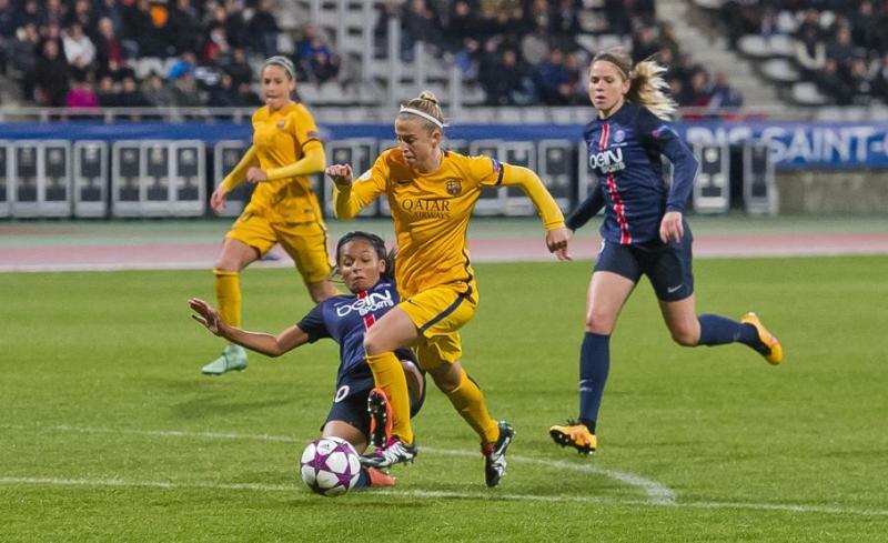 Champions Femenina: El PSG, un club 'amigo para el Barça Femenino