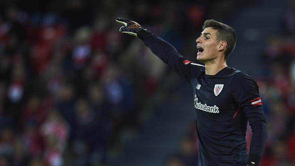 Kepa Arrizabalaga blindó la portería en la visita del Real Madrid a San Mamés.
