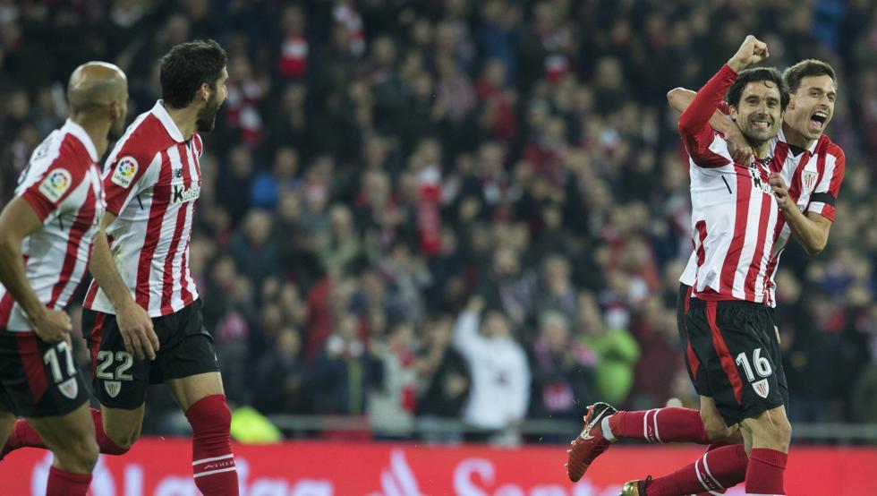 Etxeita marcó el primer gol del Athletic el domingo ante el Alavés