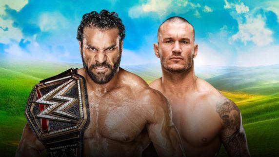 Jinder Mahal vs Randy Orton FOTO: wwe.com