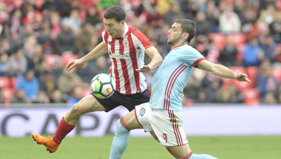 El Athletic empató con el Celta el pasado sábado en San Mamés