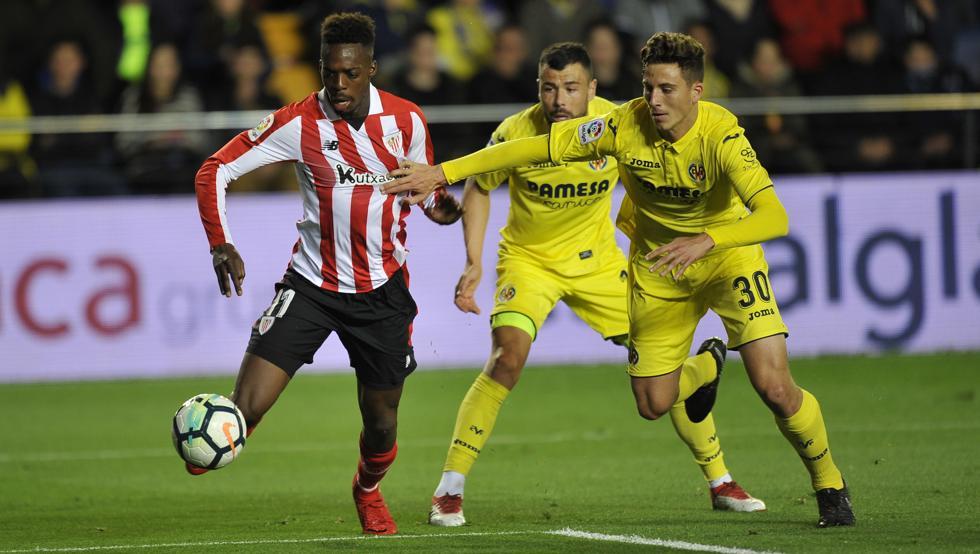 Williams fue un auténtico quebradero de cabeza para la defensa del Villarreal y culminó su gran actuación con el segundo tanto del equipo rojiblanco