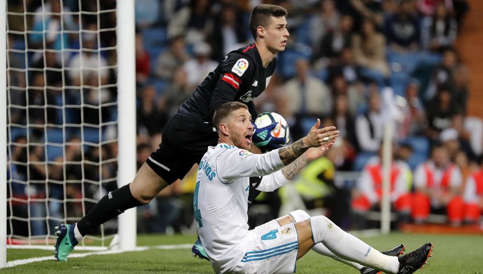 Kepa jugó un gran partido el miércoles en el Santiago Bernabéu