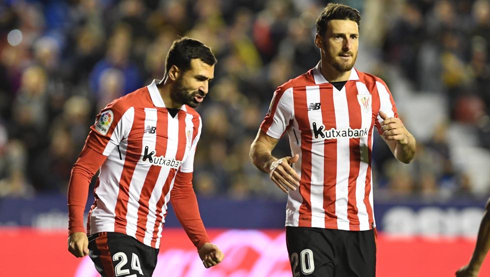 Aduriz lleva marcados 19 goles entre Liga y Europa League