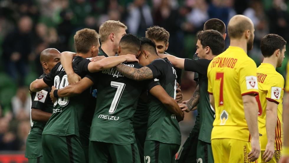 El Krasnodar se ha hecho un hueco en la elite del fútbol ruso