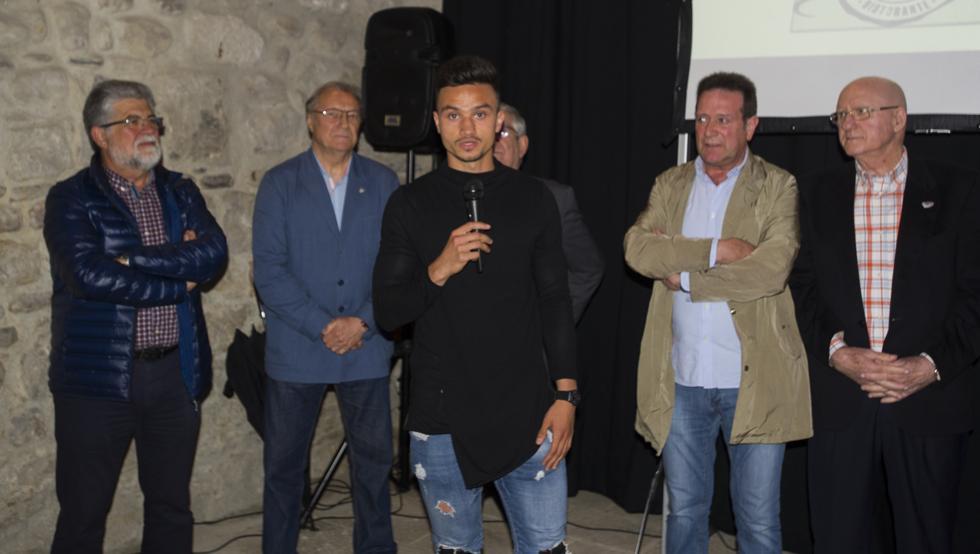 Ganea participó ayer en la presentación de la XX edición del Torneo Piru Gainza
