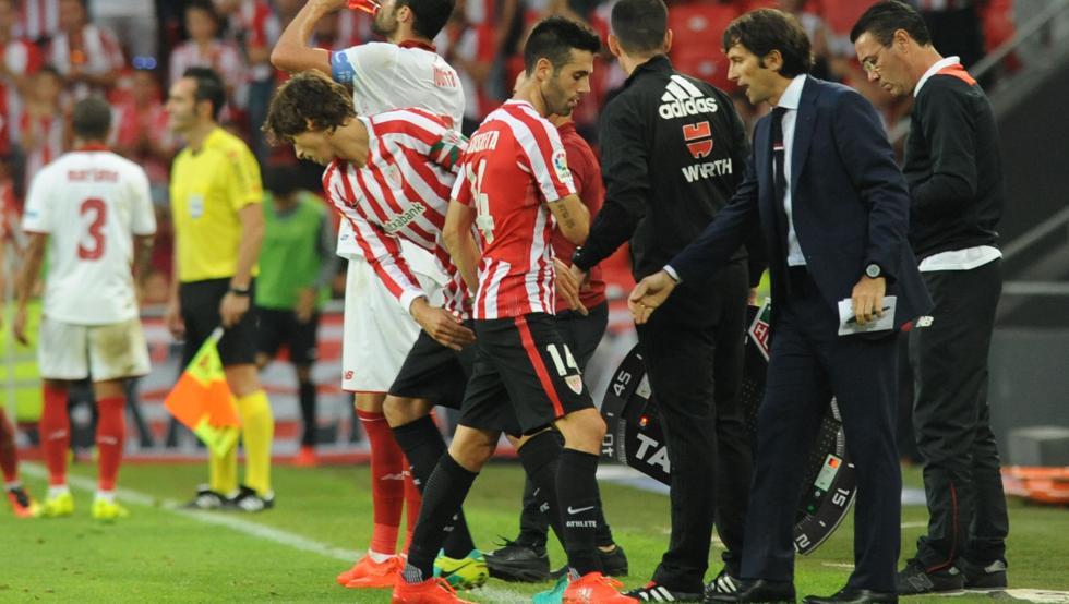 Iturraspe y Susaeta llevan muchas campañas seguidas en el Athletic