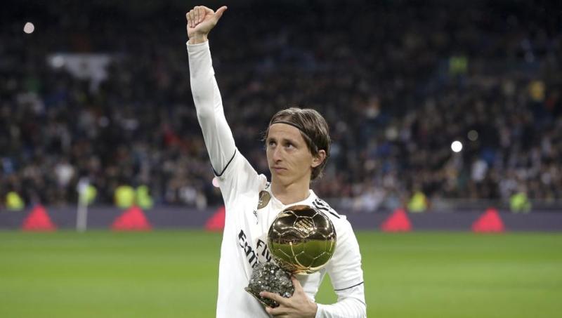 Modric brinda el Balón de Oro al Bernabéu