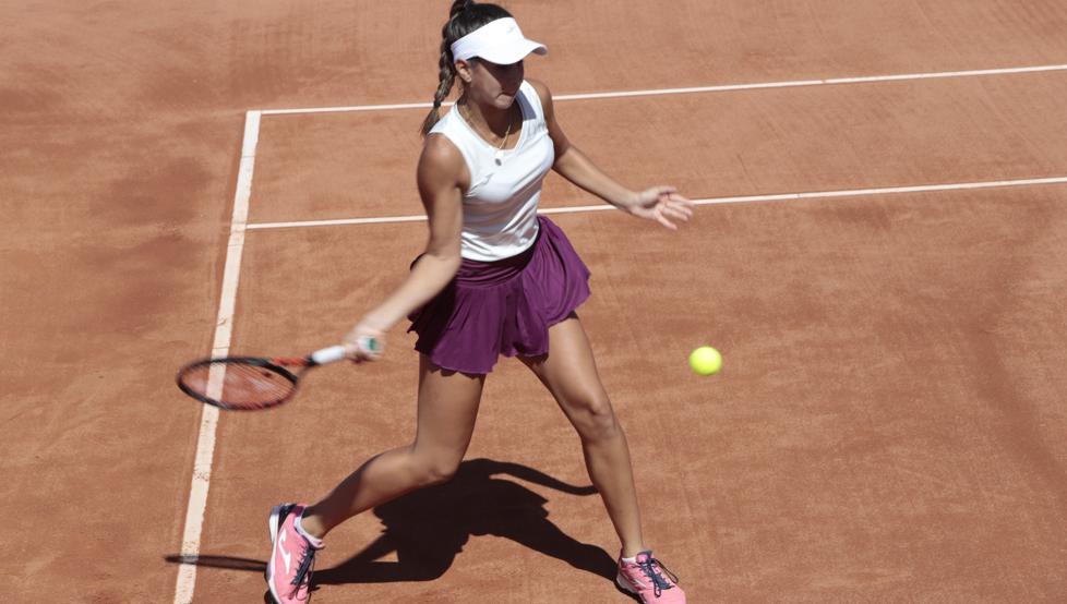 El trofeo de la copa davis. Tenis: Cinco españolas, en cuartos del Trofeo Ciutat de