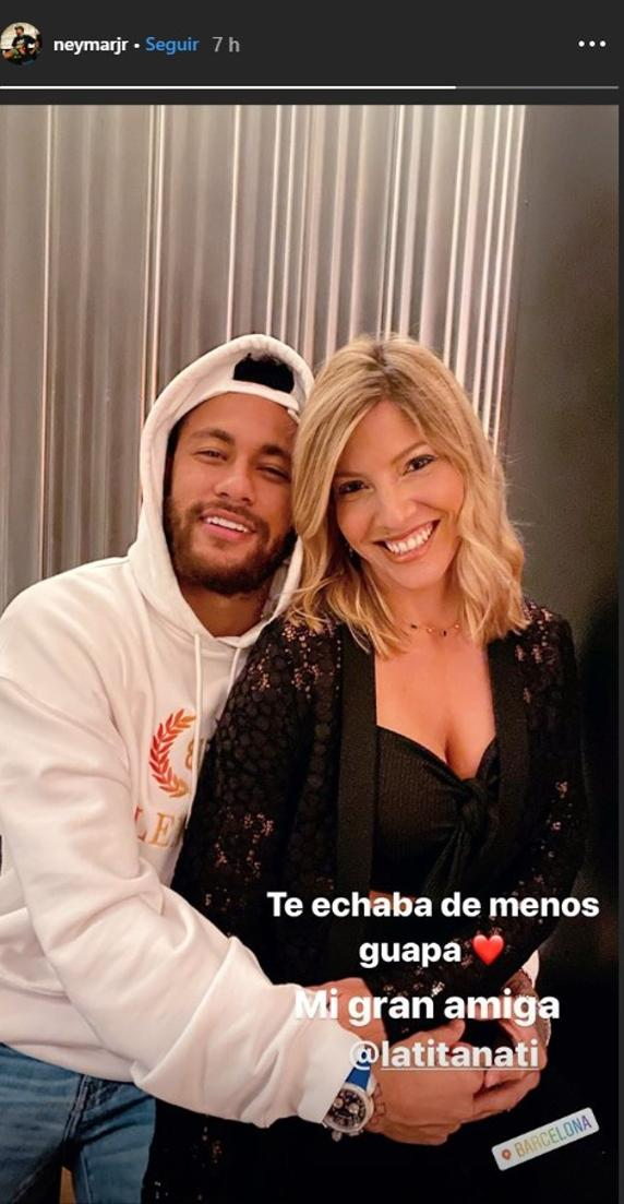 Visiting Neymar in Barcelona