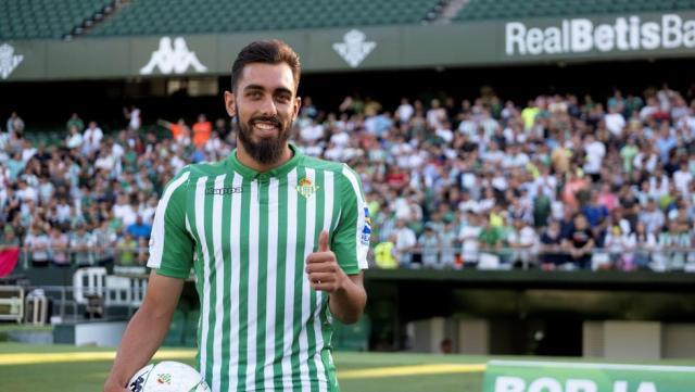 """Borja Iglesias: """"Ojalá pueda jugar ante el Barcelona"""""""