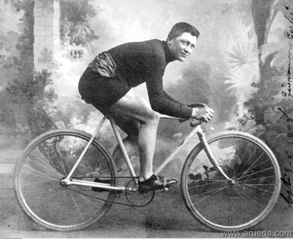Giovanni Gerbi, primer ciclista que se depiló