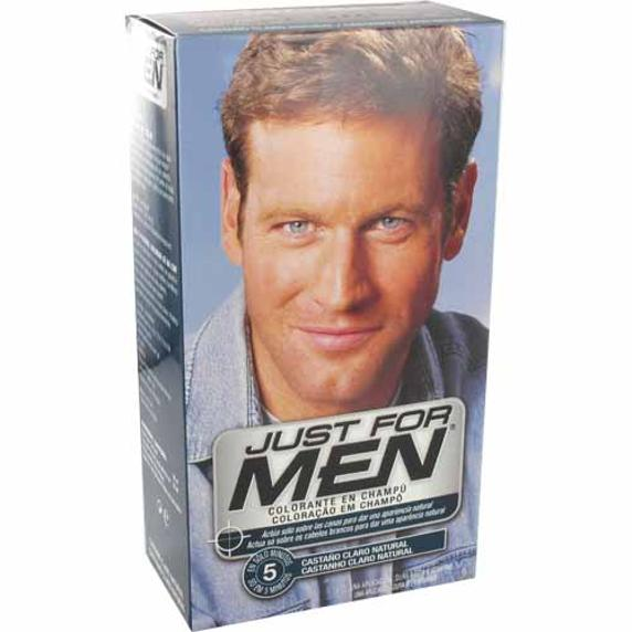 Just For Men champú colorante castaño claro