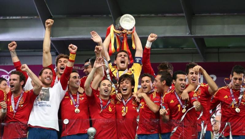 Marcelino y Pereda dan la primera Eurocopa