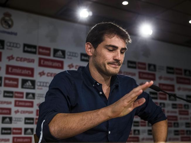 La despedida de Iker Casillas, en directo