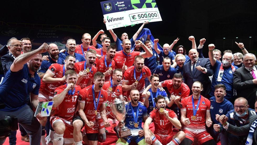 El Kedzierzyn-Kozle polaco se proclama campeón de Europa