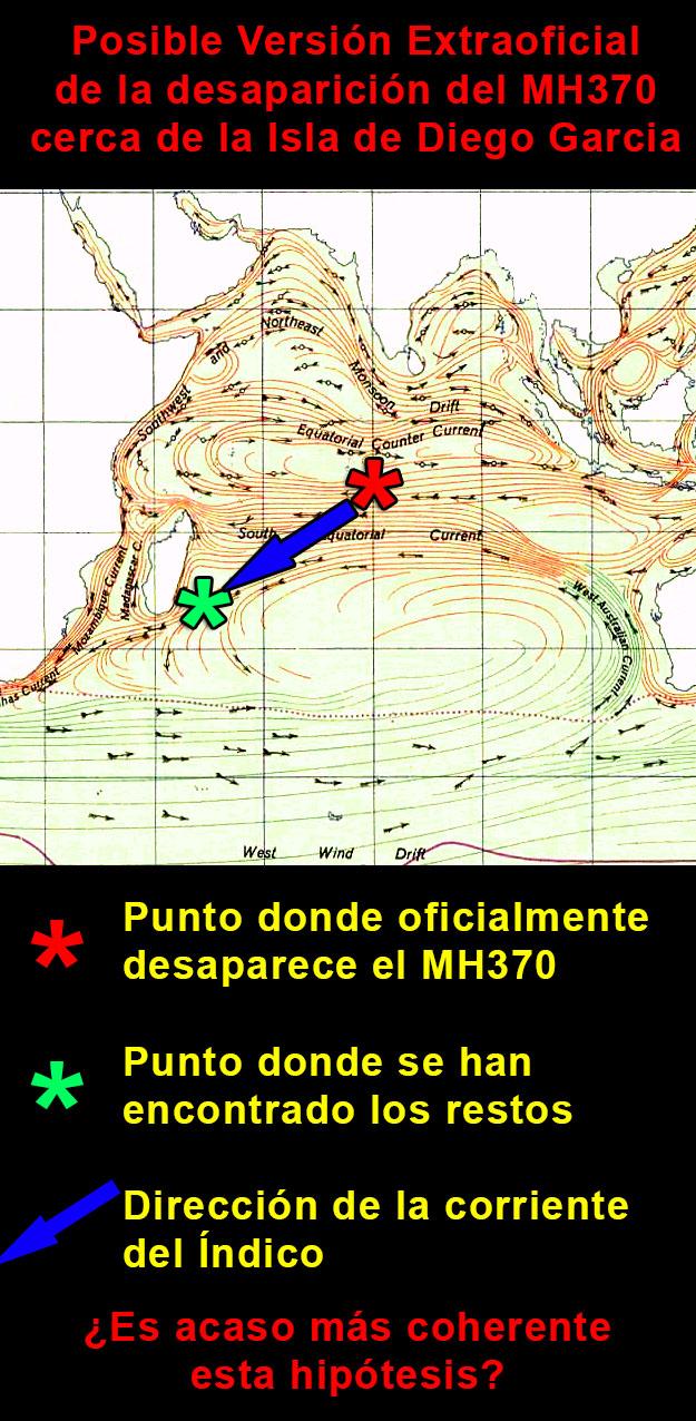 version extraoficial mh370