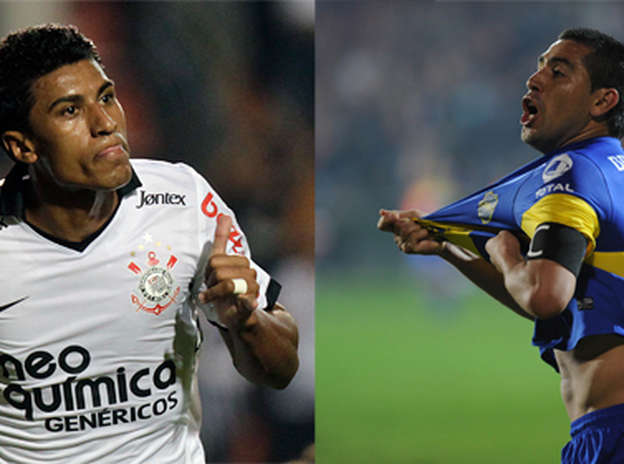 5188013eba Pela primeira vez decidindo a disputa pela taça da Libertadores