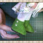DIY Botas para muñecas