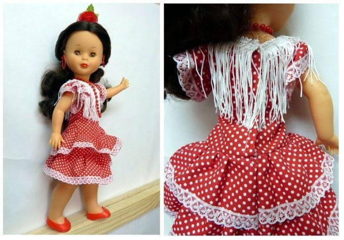 Tutorial de vestido de flamenca para Nancy