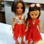 DIY Vestido de muñeca drapeado para Nancy