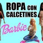 Ropa para tu muñeca Barbie con Calcetines
