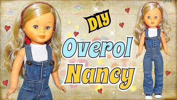 DIY Overol o peto para tus Muñecas Nancys