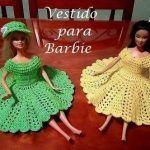 Vestido corazón para Barbie