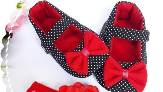 DIY Zapato de tela para muñeca