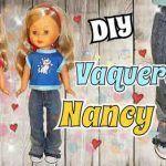 Pantalón vaquero para la muñeca Nancy