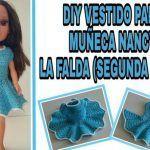 DIY Vestido a crochet para muñeca Nancy