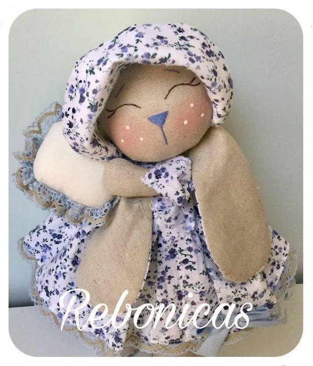 DIY Muñeca conejita de tela Bettie