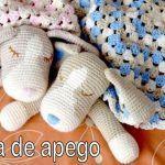Perritos Manta de apego amigurumi crochet