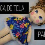 DIY Como hacer una muñeca de tela fácil